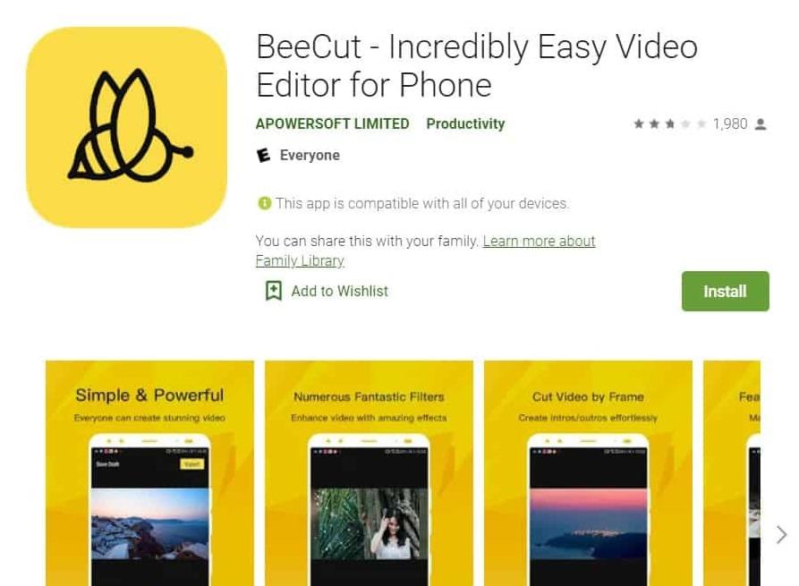 app beecut
