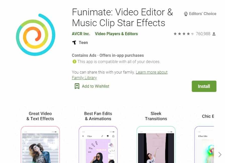 app funimate
