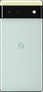 téléphone Pixel 6 en arrière